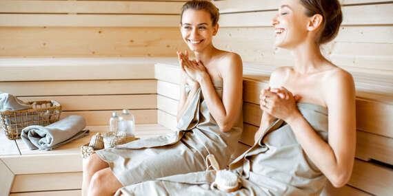Wellness balík pre dvoch so saunou a masážami/Košice