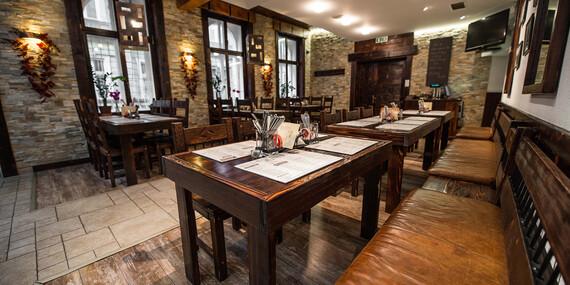 Tradičné kačacie hody pre 4 osoby v reštaurácii Kozia brána/Bratislava - Staré Mesto