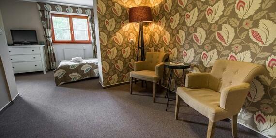 Oblíbený Hotel Stoh***+ ve Špindlerově Mlýně s polopenzí, welcome drinkem a vstupem do Vodního ráje/Krkonoše - Špindlerův mlýn