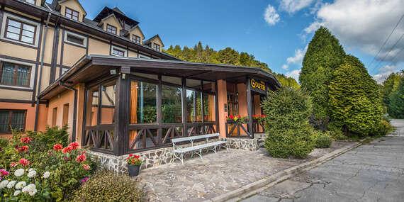 Hotel GOLFER*** s polpenziou v Kremnických vrchov, kde načerpá energiu celá rodina/Kremnica