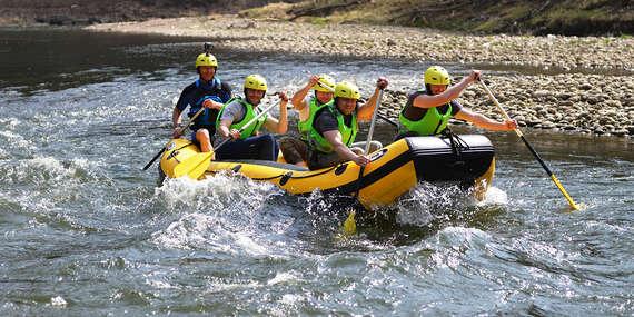 Raftingové dobrodružstvo na Dunajci - rafting s inštruktorom alebo prenájom raftu/Červený Kláštor