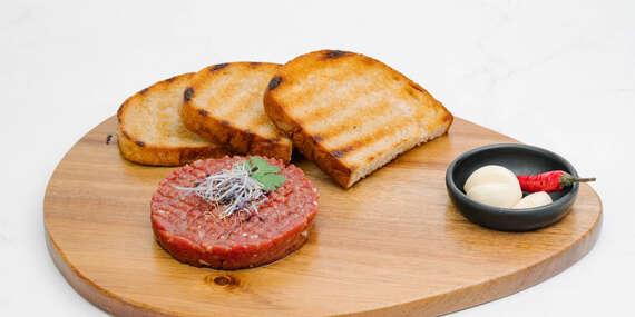 Vychutnajte si skutočne dobrý tatarák zo slovenského mäsa v Bull Bistro/Bratislava - Nové Mesto