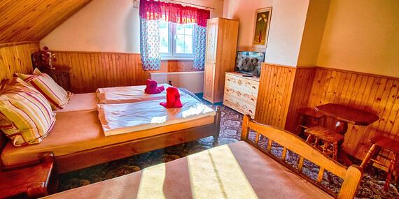 Raj pre turistov a lyžiarov - útulný penzión Šilon s nádherným výhľadom na Tatry/Belianske Tatry - Ždiar
