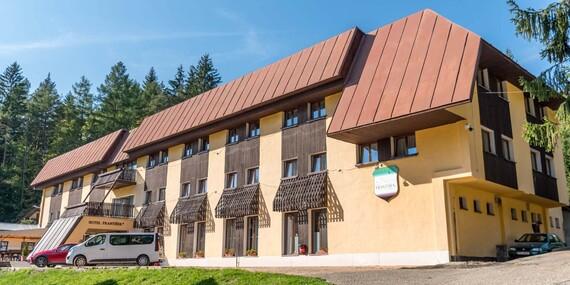 Víkend v horskom hoteli František v srdci Javorníkov/Lazy pod Makytou