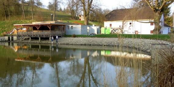Všední dny na jižní Moravě v Porčově mlýně s polopenzí a vstupem do bazénu/Jižní Morava - Lysice