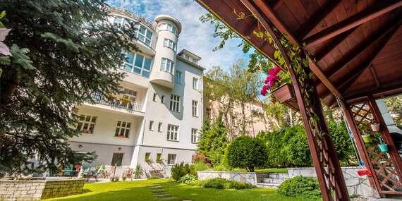 Hotel Arcus*** len 10 min. pešo od centra Bratislavy, s tichou záhradou a možnosťou parkovať/Bratislava