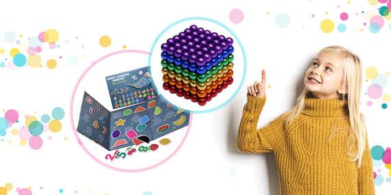Rozvojové magnetické hračky pre šikovné deti/Slovensko
