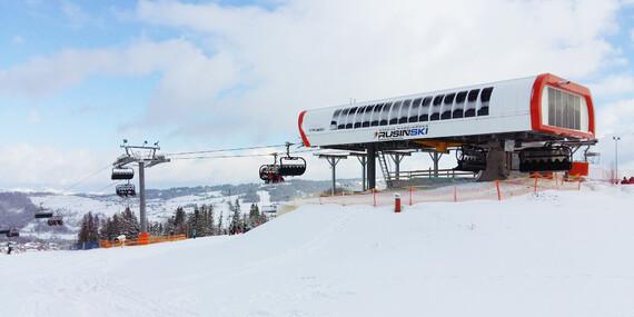 Skipasy do oceňovaného strediska Rusin-Ski v Poľsku aj cez víkendy bez doplatku / Poľsko - Bukowina Tatrzanska