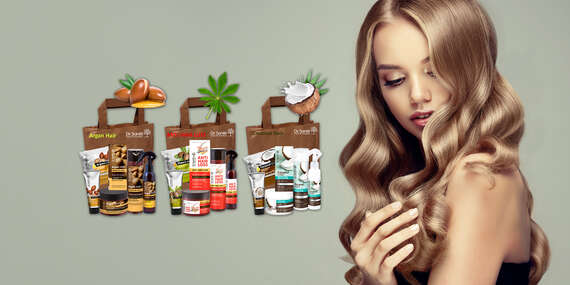 Dr. Santé – darčeková taška plná kozmetiky na vlasy a ruky (3 druhy)/Slovensko