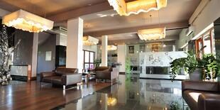 Interiér hotela Vesta*** v poľskom meste Jeleśnia