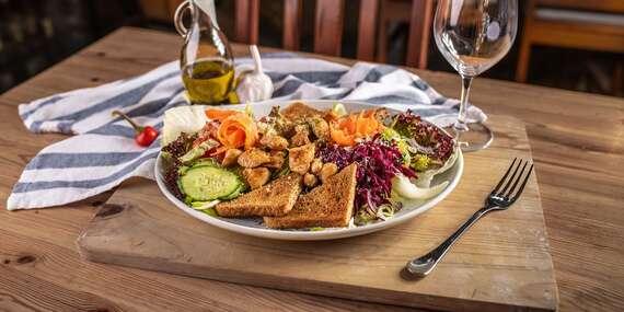 Šaláty a cestoviny so sebou z Pizza & grill Búdková / Bratislava – Staré Mesto