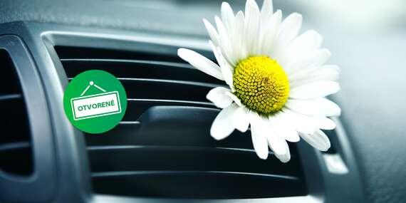 Čistenie interiéru ozónom alebo plnenie klimatizácie auta bez doplatkov v Petržalke/Bratislava – Petržalka