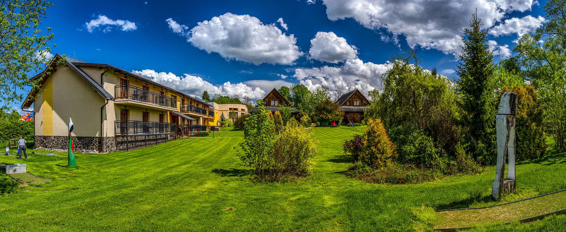 Vynikajúci Sojka resort na Liptove s wellness, neobmedzeným kúpaním a množstvom bonusov