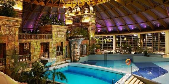 Luxusní hotel Aquaworld Resort Budapest s přímým vstupem do vodního parku Aquaworld, polopenzí a dítětem do 7 let zdarma až do října 2021/Maďarsko - Budapešť