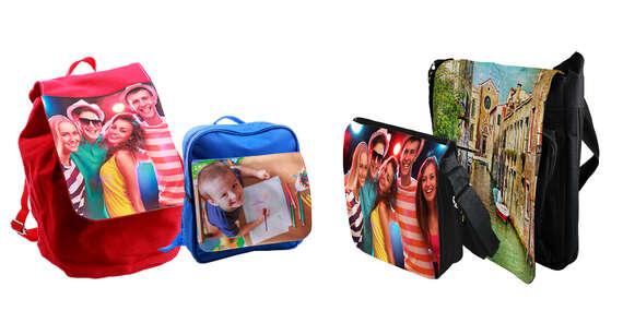 Taška cez rameno alebo ruksak s potlačou od FaxCOPY/Slovensko