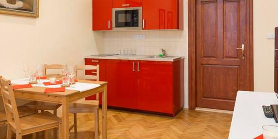 Moderné apartmány len 300 m od Staromestského námestia a 500 m od Karlovho mosta/Praha