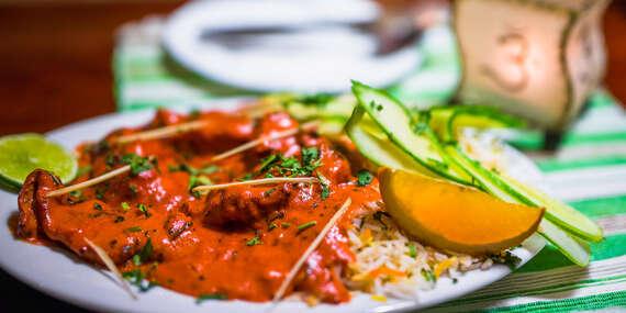 Ochutnajte pravú indickú kuchyňu - kuracia tikka masala alebo butter chicken/Košice - Staré Mesto