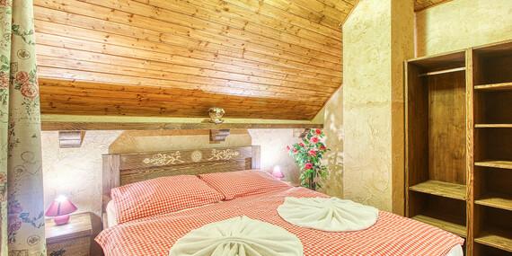 Belianske Tatry s neobmedzeným wellness v goralskom penzióne Ždiaranka s chutnou polpenziou/Belianske Tatry - Ždiar