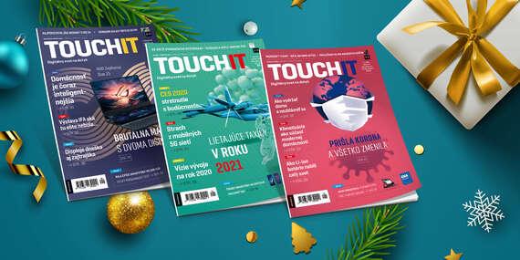 Ročné predplatné TOUCHIT (6 vydaní) s príručkou Začíname so smartfónom/Slovensko
