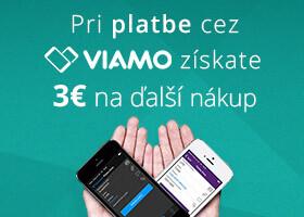 Získajte späť 3 € pri platbe cez VIAMO