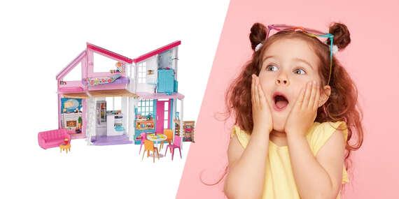 Dvojposchodový dom Malibu od Mattela pre všetky milovníčky Barbie/Slovensko