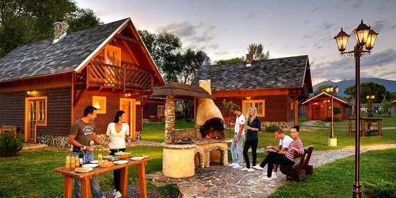 Dovolenka v útulných chatkách Aqualandia Village/Liptov - Kráľova Lehota
