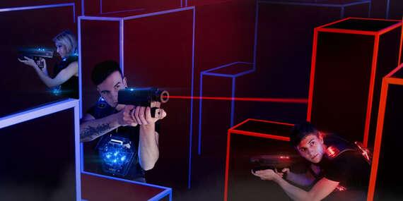 Akčná Laser Game v jednej z najmodernejších Laser Arén v Európe/Michalovce
