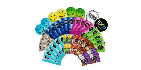 Zvládneš toľko lásky? Veľké mix balenia kondómov Durex, EXS, Secura a Vitalis/Slovensko