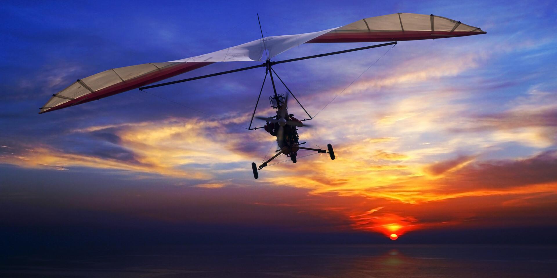 Nezabudnuteľný let rogalom ponad Nitru
