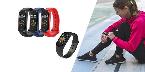 Fitness hodinky - náramok M4 alebo M5 Smart Band/Slovensko