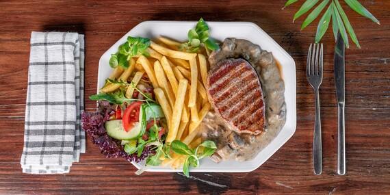 Rump steak tej najvyššej kvality/Bratislava - Petržalka - Draždiak