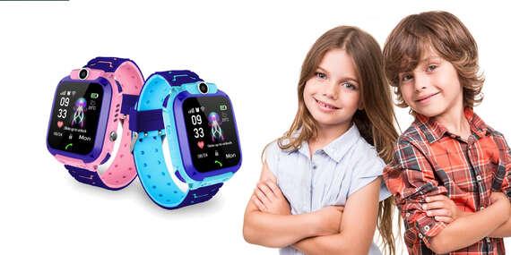 Inteligentné Smart hodinky pre deti Q528 s fotoaparátom a GPS / Slovensko