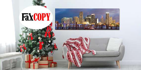 Veľkoformátový obraz z vašej fotografie na oživenie vašich priestorov s možnosťou odberu až v 39 predajniach FaxCOPY zadarmo/Slovensko