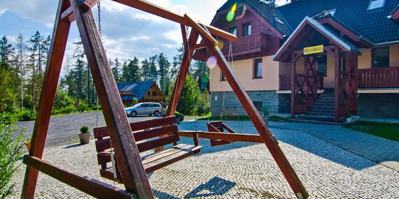 Dovolenka len 50 m od Studeného potoka v lesnom prostredí Tatier s raňajkami/Vysoké Tatry - Tatranská Lomnica