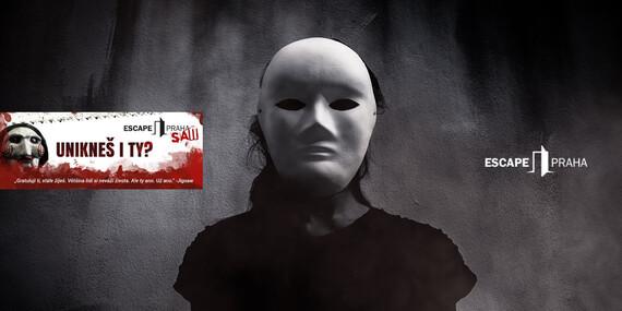 Zahraj si o svůj život! SAW - úniková hra až pro 6 hráčů na Praze 7 s platností až do června 2020 / Praha 7 - Holešovice