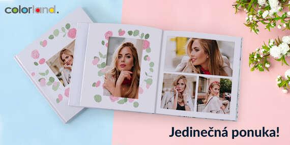 Kvalitná fotokniha 30x30 v tvrdej väzbe z vašich najkrajších momentov/Slovensko