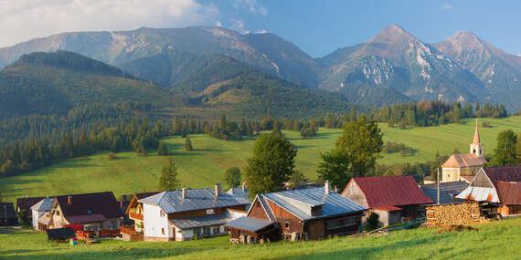 Luxusná chata Adamec s polpenziou a neobmedzeným wellness v najkrajšej časti Tatier / Ždiar – Belianske Tatry