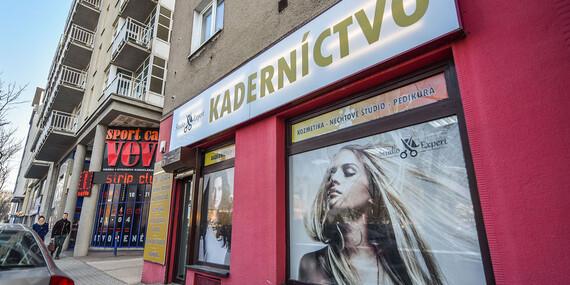 Pánsky či dámsky strih, regenerácia, nová farba, melír alebo predĺženie vlasov/Bratislava – Nové Mesto