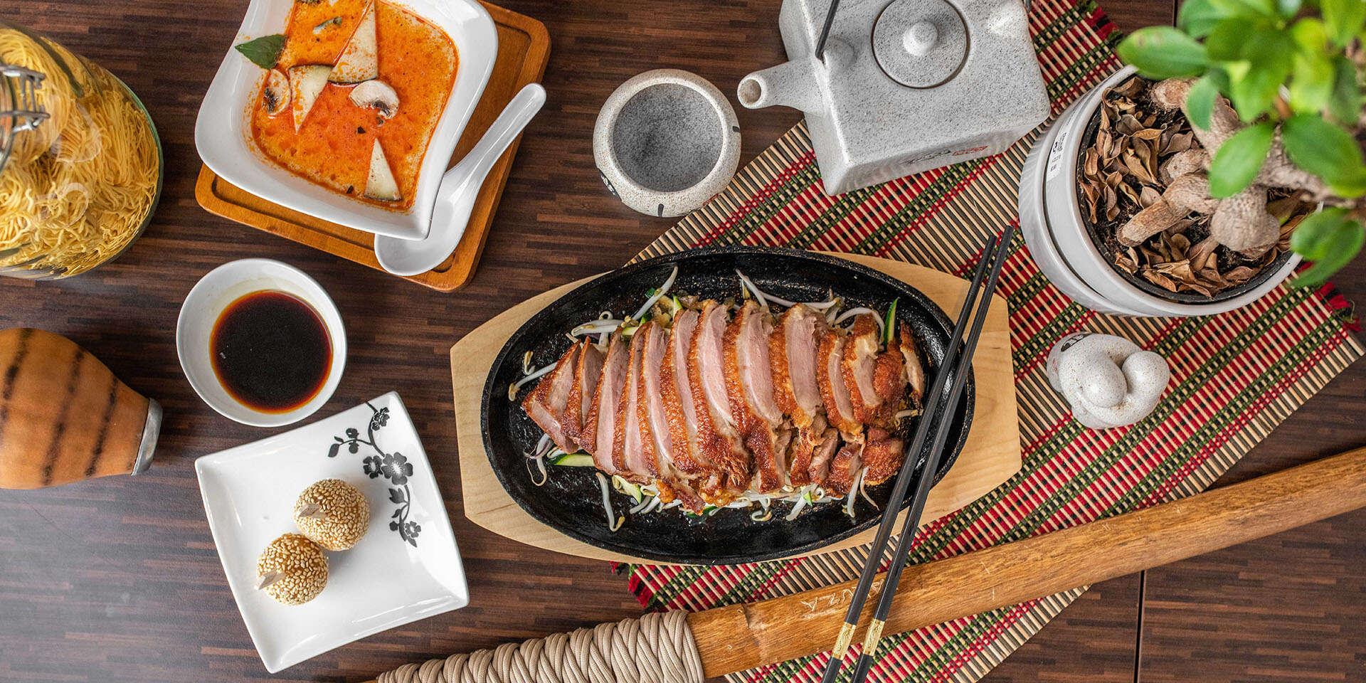 Degustačné vietnamské kačacie menu v obľúbenom Việt Phố