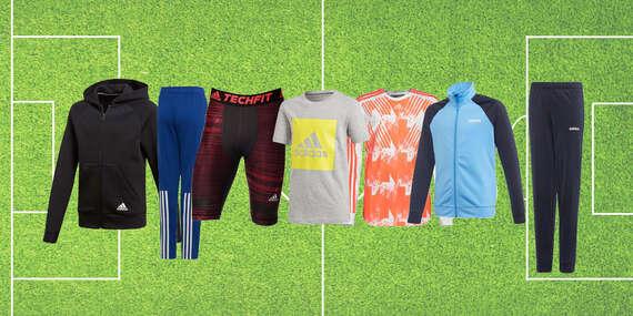 Detské mikiny, tepláky alebo teplákové súpravy značky Adidas/Slovensko