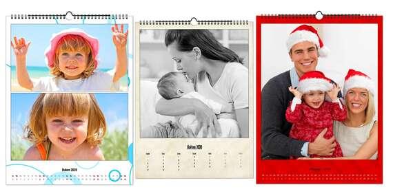 Zpříjemněte si pohled na každý den - nástěnný fotokalendář s digitálním tiskem na křídovém papíře a snadnou online objednávkou/ČR