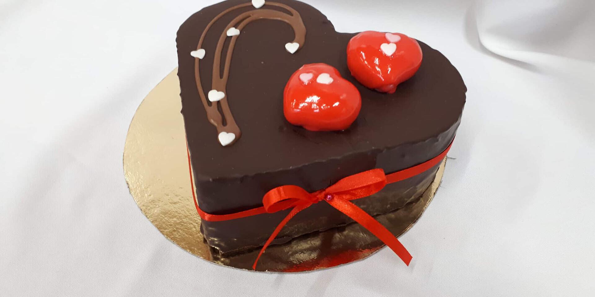 Domáce valentínske torty z cukrárne KUUTS