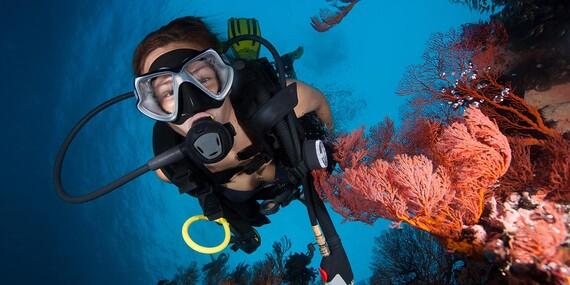 Potápanie na skúšku - Discover Scuba Diving/Bratislava/Senec