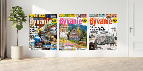 Dvojročné predplatné časopisu Tvorivé bývanie - časopis o hravom a zdravom bývaní na 2 roky/Slovensko