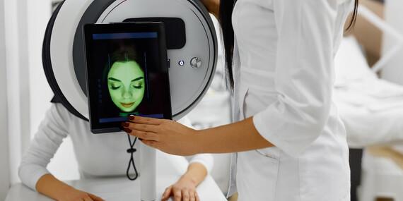 Diagnostika pleti unikátnym prístrojom OBSERV®520 v kozmetickom inštitúte Gladys/Bratislava - Karlova Ves