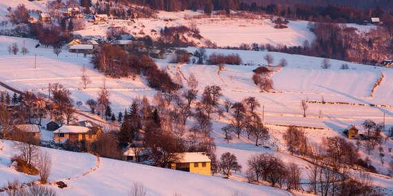 Rozprávkové Vianoce pre 8 osôb na lazoch v Chalúpke u Janka / Hriňovské Lazy - Hriňová