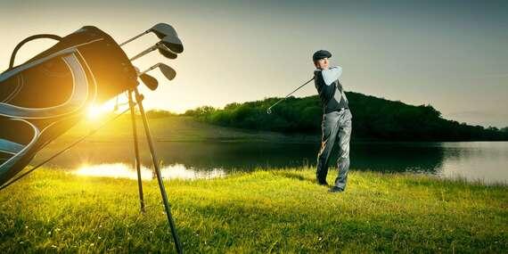 Intenzívny golfový kurz pre získanie HCP a povolenia ku hre s TOP trénerom a PGA Golf Professional Karolom Balnom – nové termíny až do júla 2021/Báč – len 23 km od Bratislavy