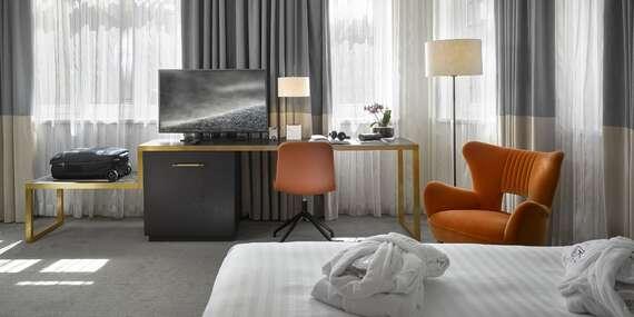 Luxusný pobyt s raňajkami v K + K Hoteli Fenix**** pár krokov od Václavského námestia/Praha - Česko