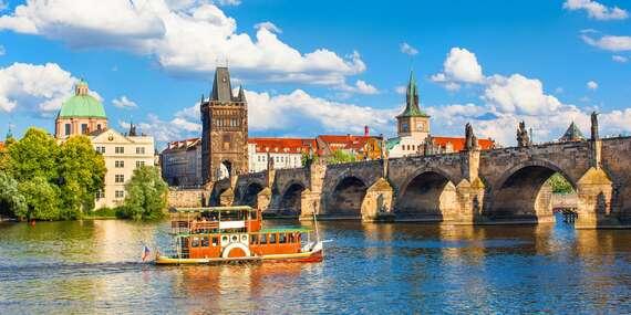 Stylový hotel U Krále Jiřího v historickém centrum Prahy se snídaní, welcome drinkem a platností do března 2021 / Praha