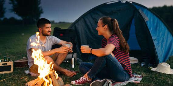 Letní pobyt v Duchonka Camping s koupáním a turistikou/Prašice, Slovensko